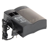 Rechargeable Battery Charger for NiMH and NiCd Batteries - Charges Up to 8 AA or AAA Batteries, and 2 9V Batteries
