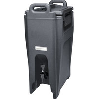 Cambro UC500191 Ultra Camtainer 5.25 Gallon Granite Gray Insulated Beverage Dispenser