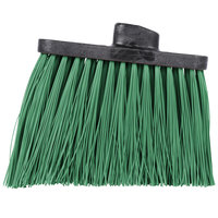 Carlisle 3686809 Duo-Sweep Heavy Duty Angled Broom Head with Unflagged Green Bristles
