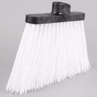 Carlisle 3686702 Duo-Sweep 12 inch Medium Duty Angled Broom Head with White Flagged Bristles