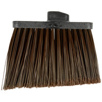 Carlisle 3686701 Duo-Sweep Medium Duty Angled Broom Head with Flagged Brown Bristles