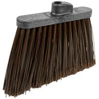 Carlisle 3686701 Duo-Sweep Medium Duty Angled Broom Head with Flagged Brown Bristles