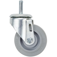Cambro 41064 3 1/2 inch Replacement Swivel Caster for Camdollies
