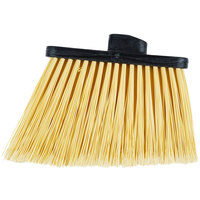 Carlisle 3686700 Duo-Sweep Medium Duty Angled Broom Head with Flagged Bristles