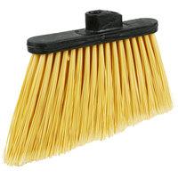 Carlisle 3686700 12 inch Duo Sweep Medium Duty Angled Broom Head with Flagged Bristles