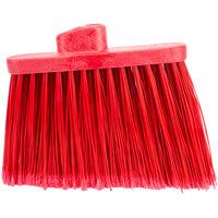 Carlisle 36867EC05 Duo-Sweep 12 inch Medium Duty Angled Broom Head with Red Flagged Bristles