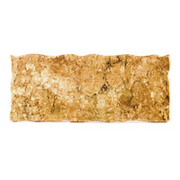 Elite Global Solutions QS2410 Rocky Mountain High 23 3/4 inch x 10 inch Rust Granite Rectangular Riser