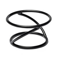 Elite Global Solutions SSDR4 Reversible 4 inch Round Rubber Coated Steel Stand