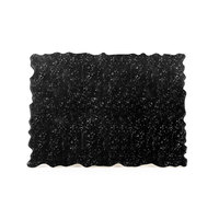 Elite Global Solutions QS2420 Fo Granite 23 3/4 inch x 20 inch Black Granite Rectangular Riser