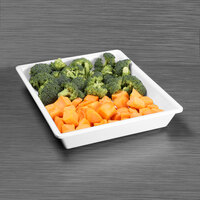 Elite Global Solutions M1012RC-NW The Bakers Display White 2.5 Qt. Rectangular Melamine Bowl