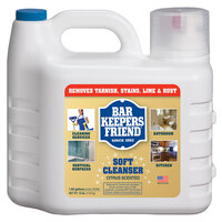 Bar Keepers Friend 1.66 Gallon All Purpose Soft Cleanser - 2 / Case