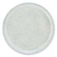 Cambro 1000531 10 inch Round Galaxy Silver Antique Parchment Fiberglass Camtray - 12/Case