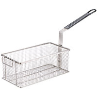 Cooking Performance Group 01.02.1005190 13 1/2 inch x 7 inch x 5 3/8 inch Fryer Basket with Front Hook
