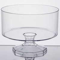 Fineline Platter Pleasers 3530 1.19 Qt. Clear Trifle Bowl   - 6/Case
