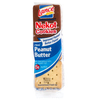 Lance Nekot Vanilla Cookie with Peanut Butter Filling 20 Count Box - 6/Case