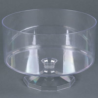 Fineline Platter Pleasers 3531 2.34 Qt. Clear Trifle Bowl - 6/Case