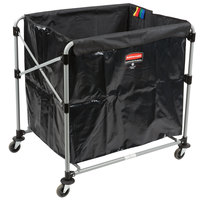 Rubbermaid 1881750 Laundry Cart - 8 Bushel Collapsible X-Cart