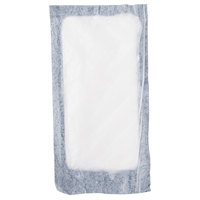 Absorbent Meat, Fish, and Poultry Pad 4 inch x 7 inch - 2000/Case