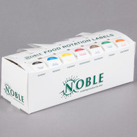 Noble Products 7-Slot Dispenser with 7 Removable 1 inch Day of the Week Label Rolls