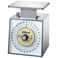 Edlund DR-2 Deluxe 32 oz. Portion Scale with 6 inch x 6 3/4 inch Platform