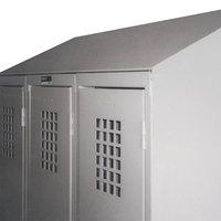 Winholt WLST-18 Slope Top Crown Kit for 18 inch Deep Triple Column Lockers