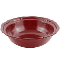 Bon Chef 9054 Queen Anne 10 Qt. Sandstone Terra Cotta Cast Aluminum Salad Bowl