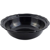 Bon Chef 9054 Queen Anne 10 Qt. Sandstone Black Cast Aluminum Salad Bowl