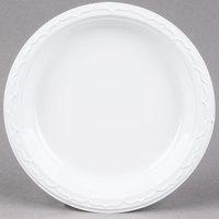 Genpak 70900 Aristocrat 9 inch White Premium Plastic Plate - 125/Pack