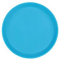 Cambro 1000518 10 inch Round Robin Egg Blue Fiberglass Camtray - 12/Case