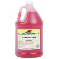 Fox's Watermelon Slush Syrup - 1 Gallon Container
