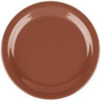 Carlisle 4385243 Toffee Dayton 9 inch Melamine Plate - 48/Case