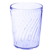 GET 2211-1-BL Tahiti 12 oz. Blue SAN Customizable Plastic Tumbler - 72/Case