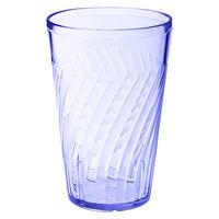 GET 2216-1-BL Tahiti 16 oz. Blue SAN Plastic Tumbler - 72/Case