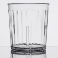 GET 8809-1-CL Spektrum 9 oz. Clear SAN Plastic Tumbler - 72/Case
