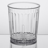 GET 8809-1-CL Spektrum 9 oz. Clear Customizable SAN Plastic Short Tumbler - 72/Case