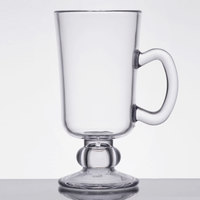 GET SW-1449-CL 10 oz. Customizable Plastic Irish Coffee Mug - 24/Case