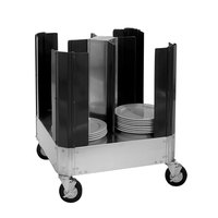 Cres Cor 501-13-180 Super Size Dish Dolly with Four Dividers