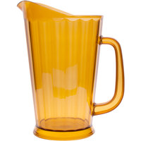 GET P-1064-1-A 60 oz. Amber Pitcher - 12/Case