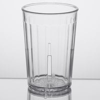 GET 8805-1-CL Spektrum 5 oz. Clear Customizable SAN Plastic Tumbler - 72/Case