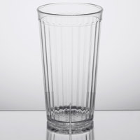 GET 8823-CL Spektrum 22 oz. Clear Customizable SAN Plastic Tumbler - 72/Case