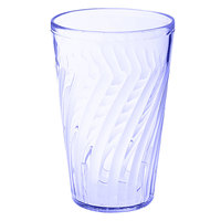 GET 2212-1-BL Tahiti 12 oz. Blue SAN Customizable Plastic Tumbler - 72/Case