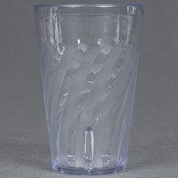 GET 2216-1-CL Tahiti 16 oz. Clear SAN Plastic Tumbler - 72/Case