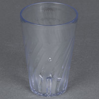 GET 2216-1-CL Tahiti 16 oz. Clear Customizable SAN Plastic Tumbler - 72/Case