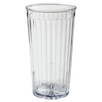 GET 8822-1-CL 22 oz. SAN Clear Plastic Spektrum Tumbler 72 / Case