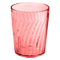 GET 2206-1-R Tahiti 6 oz. Red Customizable SAN Plastic Tumbler - 72/Case