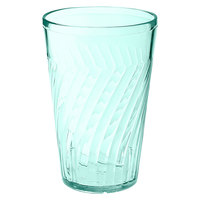 GET 2216-1-JA Tahiti 16 oz. Jade Green SAN Customizable Plastic Tumbler - 72/Case