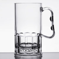 GET 00082-1-SAN-CL 10 oz. Customizable Beer Mug - 24/Case