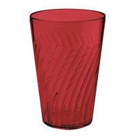 GET 2224-1-R Tahiti 24 oz.Red SAN Customizable Plastic Tumbler - 72/Case