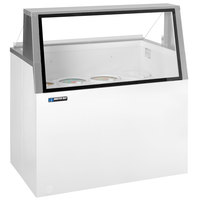 Master-Bilt DD-66L 69 inch Low Glass Ice Cream Dipping Cabinet