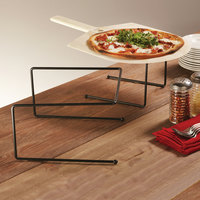 American Metalcraft BUS312 12 inch x 12 inch x 7 inch Black Universal Pizza Stand